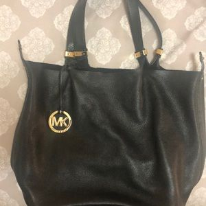 MK Michael Kors Reversible shoulder bag black